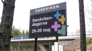 DIGITAL REKLAMSKÄRM