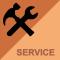 Storbildsskärmar service