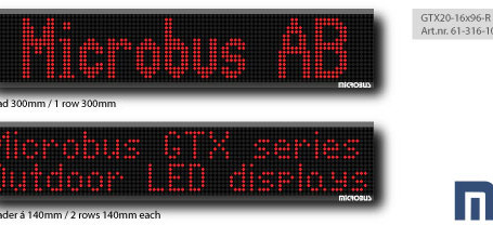 Digital LED display