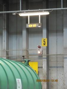 Utomhus LED display LITE 18x80 gul amber
