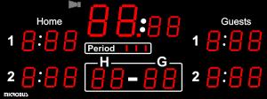 Microbus LED matchur Ishockey3000(99)