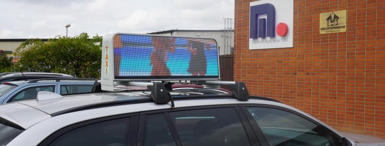 Taxi-skylt