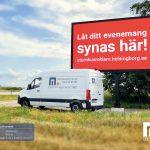 Helsingborgs Kommun - Infartsskylt P16/10